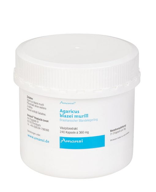 Agaricus blazei murill - Mandelpilz Extrakt