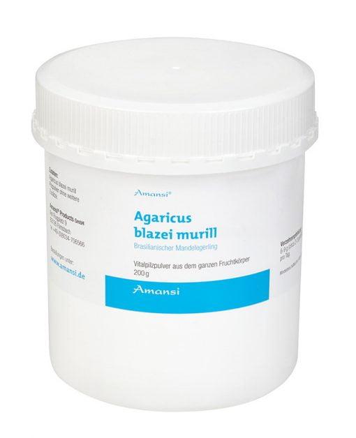 Agaricus blazei murill - Mandelpilz Vitalpilzpulver
