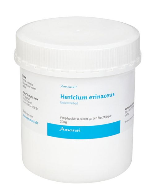 Hericium erinaceus - Igelstachelbart Vitalpilzpulver