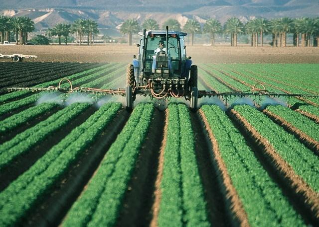 Pestizid Ausbringung